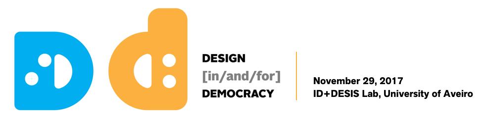 Desis Philosophy Talk 6 3 Regenerating Democracy A Design Contribution Desis Philosophy Talks